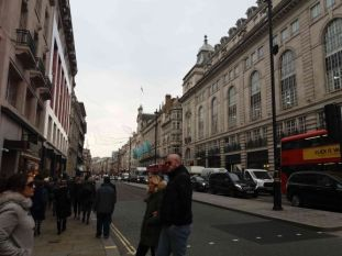 Heading to the wide Piccadilly